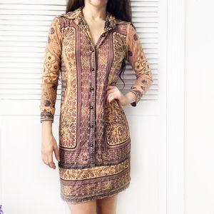 Alberto Makali Button-Down Shirt Dress NWOT